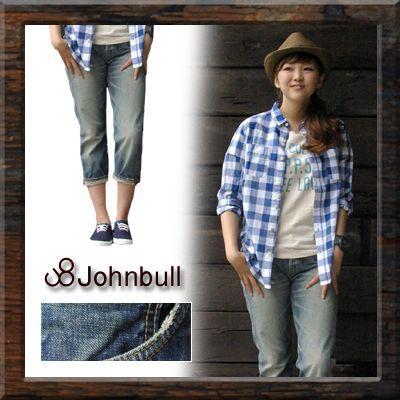 魅力的な 【Johnbull】 DENIM SABRINA (ap861-016) Lady