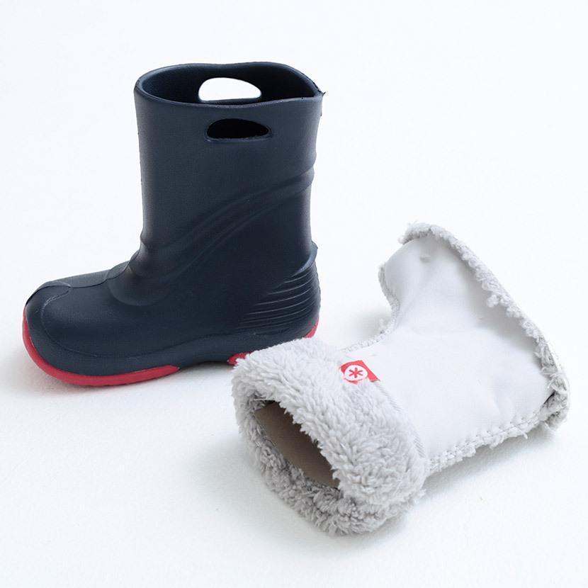 【スポイチ】レインシューズ 長靴 子供用 キッズ レインブーツ 防水 スノトレ スノーブーツ 2WAY POOKIES プーキーズ PK-EB510 子供用 ジュニア 雪靴|spo-ichi|03