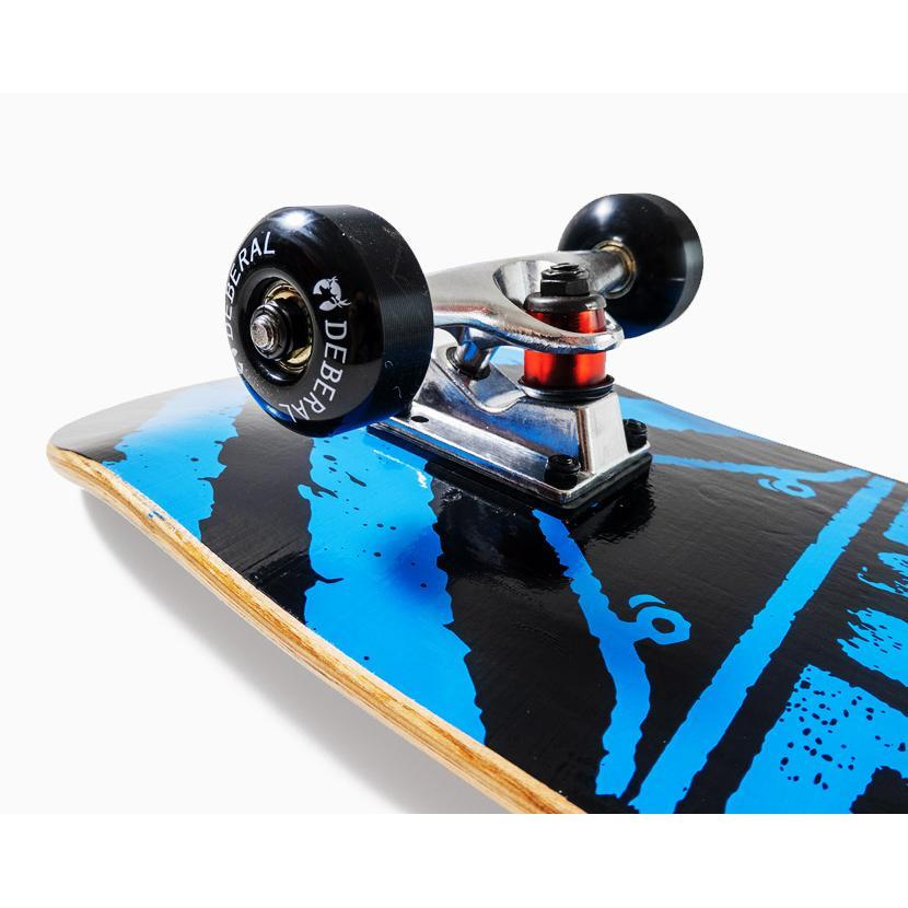 【スポイチ】スケートボード スケボー 8.0 インチ コンプリート 完成品 大人用 子供用 初心者 中級者 ABEC7 ベアリング 95A ウィール アルミトラック|spo-ichi|04