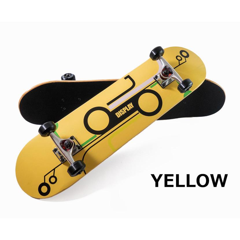【スポイチ】スケートボード スケボー 8.0 インチ コンプリート 完成品 大人用 子供用 初心者 中級者 ABEC7 ベアリング 95A ウィール アルミトラック|spo-ichi|06