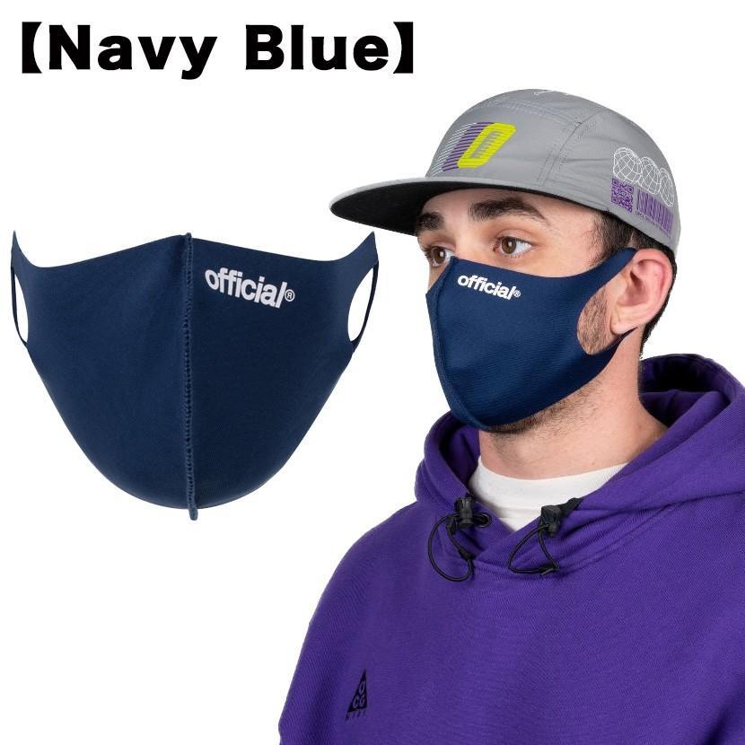 【スポイチ】OFFICIAL Nano Polyurethane Face Mask オフィシャル ナノ ポリウレタン フェイスマスク スケートボード 洗える マスク|spo-ichi|05