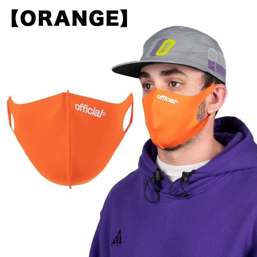 【スポイチ】OFFICIAL Nano Polyurethane Face Mask オフィシャル ナノ ポリウレタン フェイスマスク スケートボード 洗える マスク|spo-ichi|06