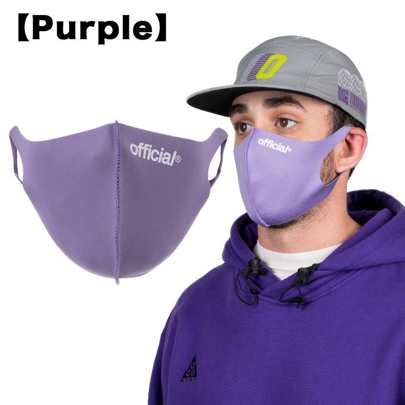 【スポイチ】OFFICIAL Nano Polyurethane Face Mask オフィシャル ナノ ポリウレタン フェイスマスク スケートボード 洗える マスク|spo-ichi|07