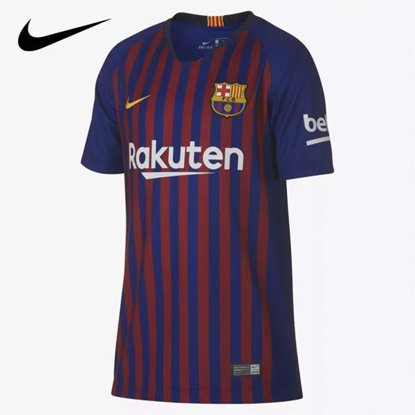 NIKE/ナイキ ジュニア サッカー ジャージー 2018/19 FC バルセロナ スタジアム ホーム 894458-456 スポーツ キッズ