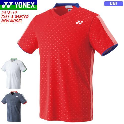 20%OFF YONEX ヨネックス ソフトテニス ウェア ユニホーム ゲームシャツ(フィットスタイル) 半袖シャツ ベリークール搭載[10270] ユニセックス:男女兼用 バド