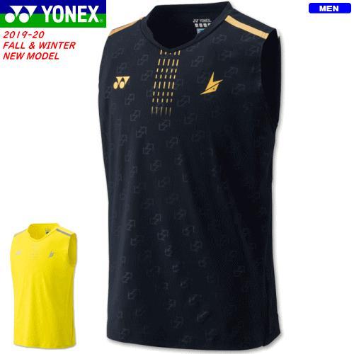 YONEX ヨネックス ソフトテニス ウェア ゲームシャツ(ノースリーブ)リンダンモデル 10323 ユニセックス バドミントン 1枚までメール便OK