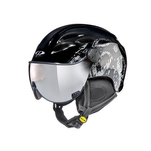 CP シーピー バイザー ヘルメット 【品名】 CURAKO 【品番】 CPC1927 【カラー】 BKB 【レンズカラー】clear 銀 mirror 【18-19 モデル】