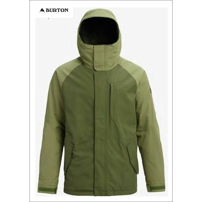 バートン BURTON メンズ ボード ウェア ジャケット (品名) GORE-TEX RADIAL SHELL JACKET (品番) 179851 (カラー) CLOVER/MOSSTONE