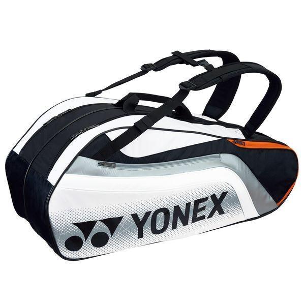 ヨネックス Yonex テニス バック ラケットバッグ6(リュック付) BAG1812R BAG1812R 245 ブラック/ホワイト 【2017】