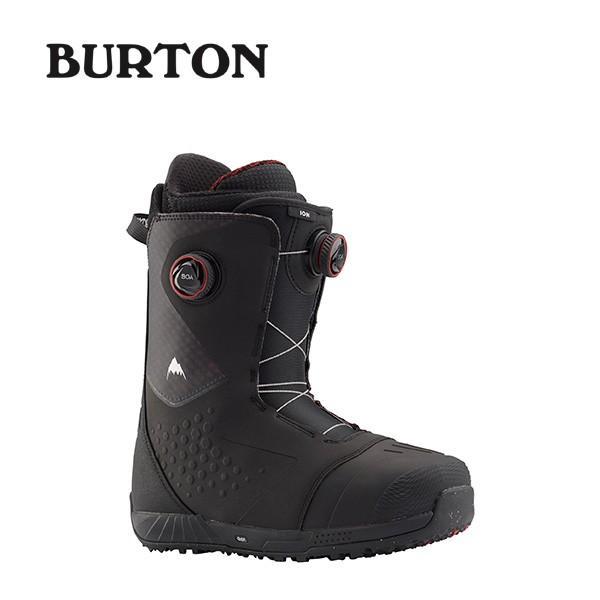 【予約販売中】 【国内正規品】 バートン BURTON スノーボードブーツ メンズ Ion Boa 黒/赤 【2019-20】