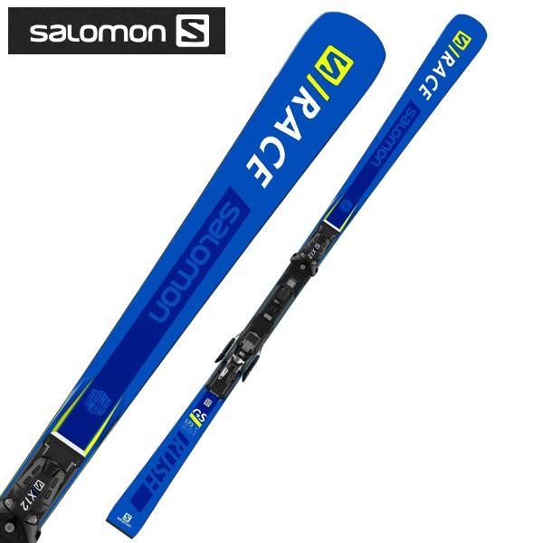 SALOMON ( サロモン スキー板 ) 【18-19 モデル】 S/RACE RUSH GS + X12 TL 【金具付き スキーセット】