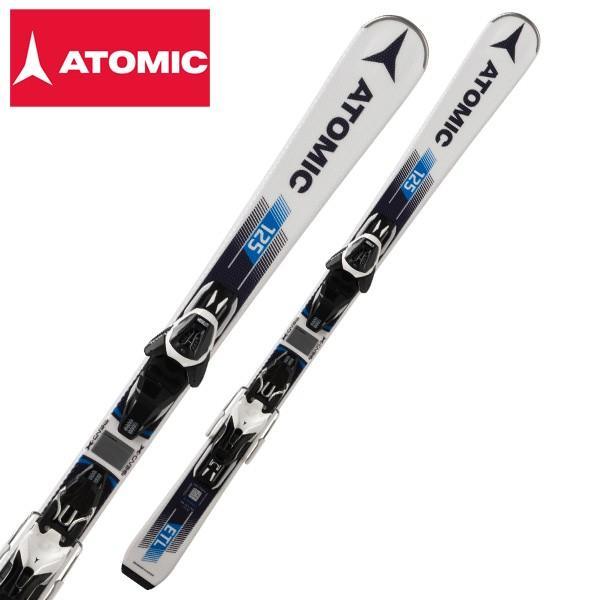 ATOMIC ( アトミック スキー板 ) ショートスキー 【18-19 モデル】 ETL 125 R + LITHUM 10 【金具付き スキーセット】