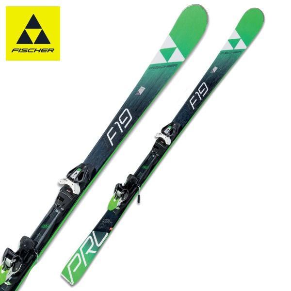 FISCHER ( フィッシャー スキー板 ) 【18-19 モデル】 PROGRESSOR F19 TI + RSX 12 GW POWERRAIL 【金具付き スキーセット】