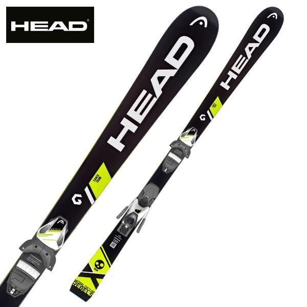 HEAD ( ヘッド スキー 板 ) ジュニアレーシング 【18-19 モデル】 WC I RACE TEAM + SLR 7.5 【金具付き スキーセット】