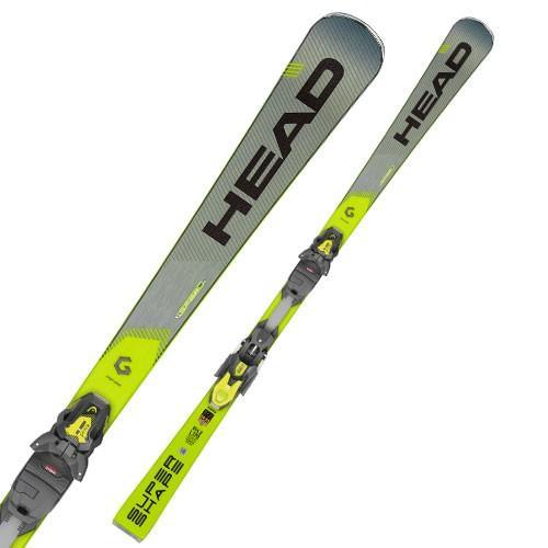 【予約販売中】 HEAD ( ヘッド スキー 板 ) 【2019-2020】 SUPERSHAPE I.SPEED (スーパーシェイプアイスピード) + PRD 12 GW BR85 【金具付き スキーセット】