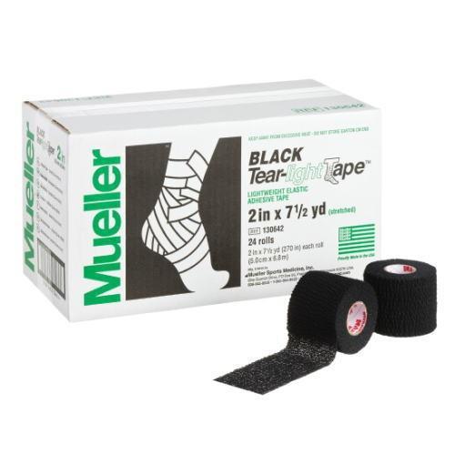 Mueller ミューラー テーピング ティアライトテープ 50mm ブラック 130642 24個入り[T]