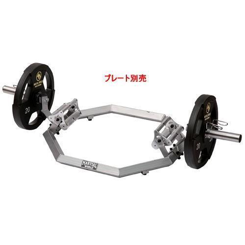 【新作入荷!!】 マーシャルワールド HEX BAR ヘックスバー HB2850 バーベル(プレート別売), カサブロウ 61dee0ab