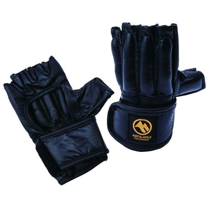 マーシャルワールド ナックル型フィンガーグローブ 格闘技グローブ・Sサイズ・黒 PG36-S-BK