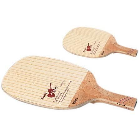 ニッタク Nittaku 卓球ラケット バイオリン R-H NE-6647 前陣攻撃用ペンホルダー角丸