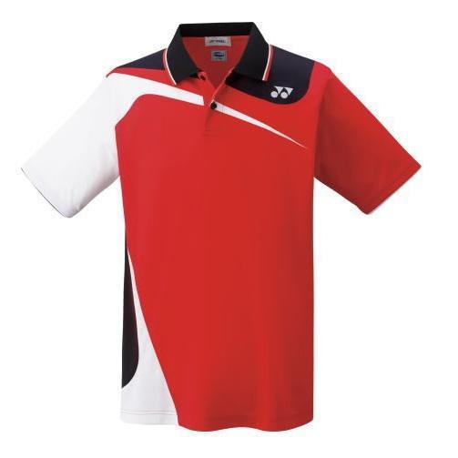 YONEX ヨネックス 男女兼用 バドミントン ユニ ゲームシャツ 10269 サンセットレッド