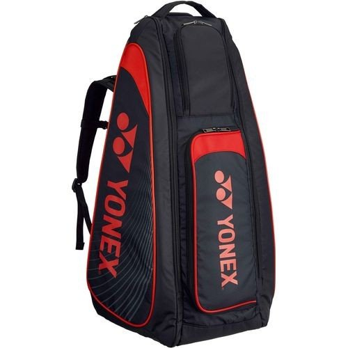 YONEX ヨネックス テニス用 スタンドバッグ リュック付 テニスラケット2本用 BAG1819 187 ブラック/レッド