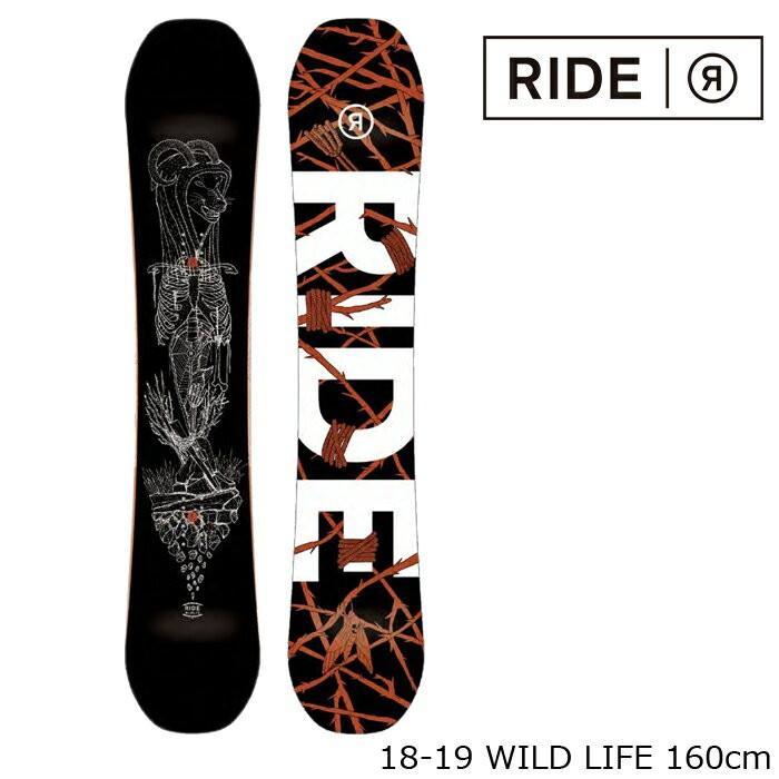 激安大特価! ライド スノーボード 板 板 18-19 RIDE WILD LIFE 18-19 160 LIFE ワイルドライフ 日本正規品, イググン:2e12272e --- airmodconsu.dominiotemporario.com