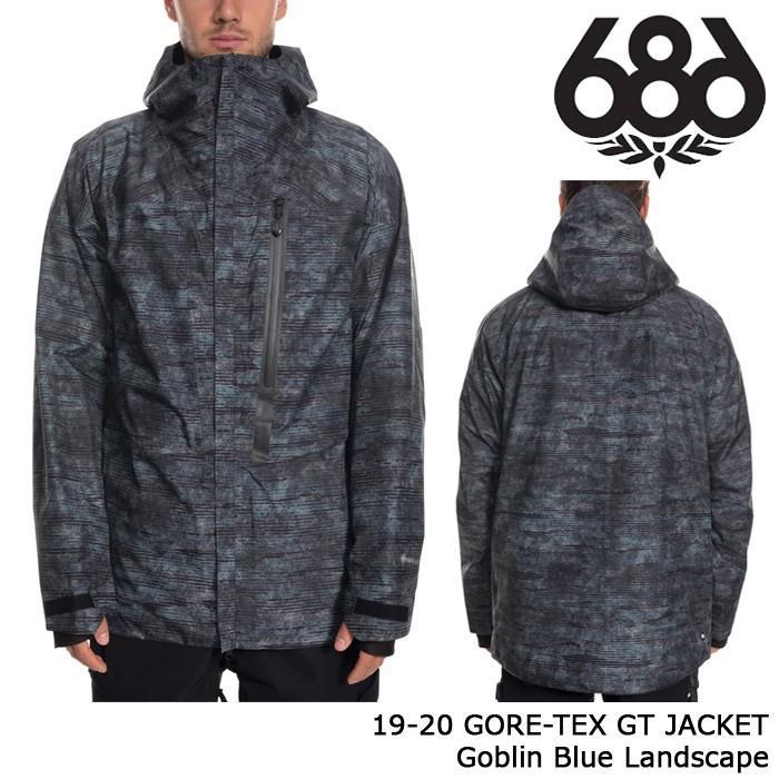 新しいエルメス シックスエイトシックス ウェア ジャケット 19-20 686 GORE-TEX GT JACKET Goblin Blue Landscape ゴアテックス 日本正規品, ジャイブミュージック e599c8c2