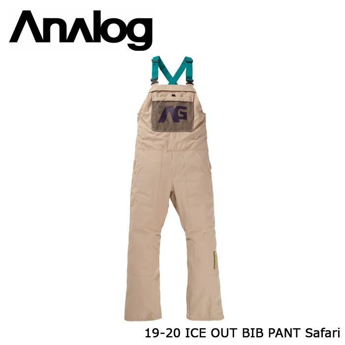 クーポンで更に10%OFF アナログ ウェア ビブパンツ 19-20 ANALOG ICE OUT BIB PANT Safari 日本正規品
