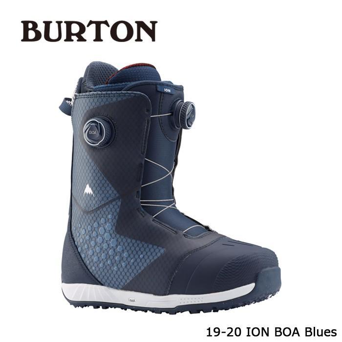 クーポンで更に10%OFF 特典あり バートン ブーツ 19-20 BURTON ION BOA 青s アイオン ボア 日本正規品 予約