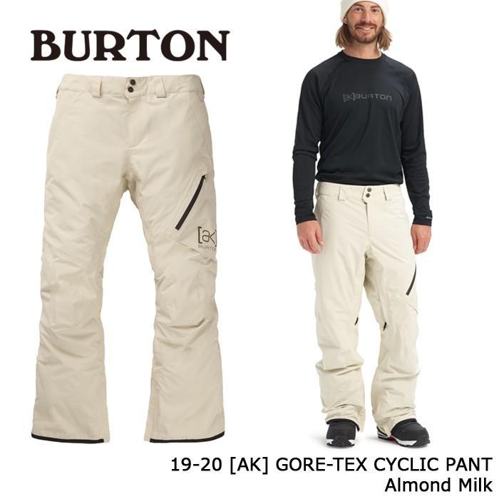 クーポンで更に10%OFF バートン ウェア パンツ 19-20 BURTON [AK] GORE-TEX CYCLIC PANT Almond Milk ゴアテックス 日本正規品