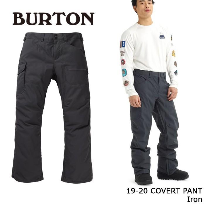 クーポンで更に10%OFF バートン ウェア パンツ 19-20 BURTON COVERT PANT Iron 日本正規品 予約