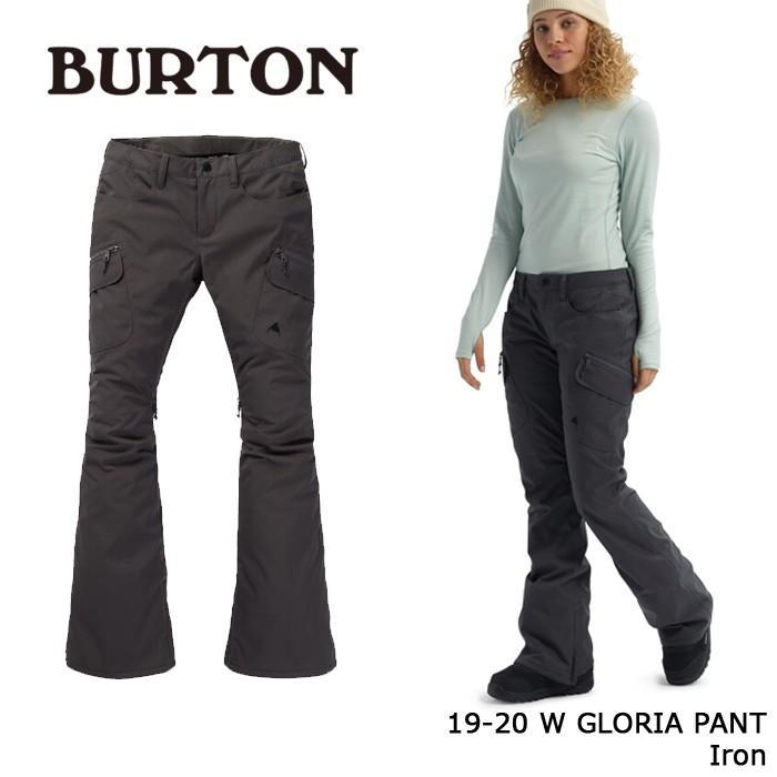 クーポンで更に10%OFF バートン ウェア パンツ 19-20 BURTON WOMEN'S GLORIA PANT Iron 日本正規品 予約