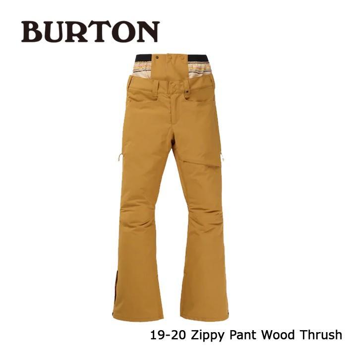 クーポンで更に10%OFF バートン ウェア パンツ 19-20 BURTON WOMEN'S ZIPPY PANT Wood Thrush 日本正規品