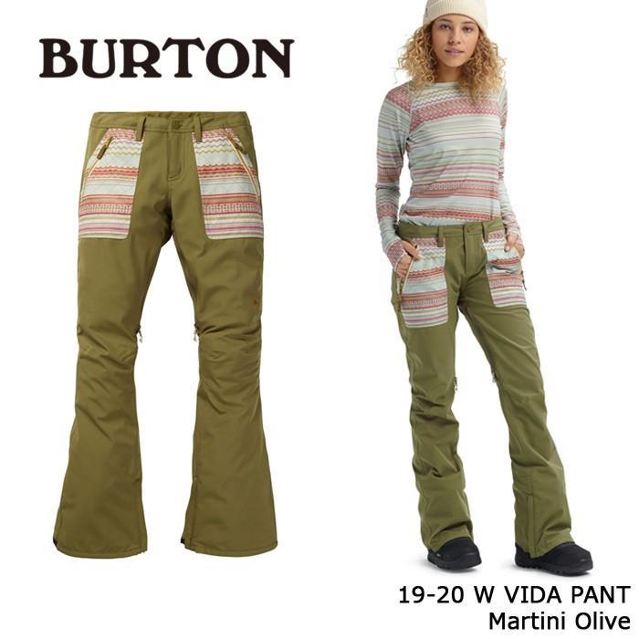 クーポンで更に10%OFF バートン ウェア パンツ 19-20 BURTON WOMEN'S VIDA PANT Martini Olive 日本正規品 予約