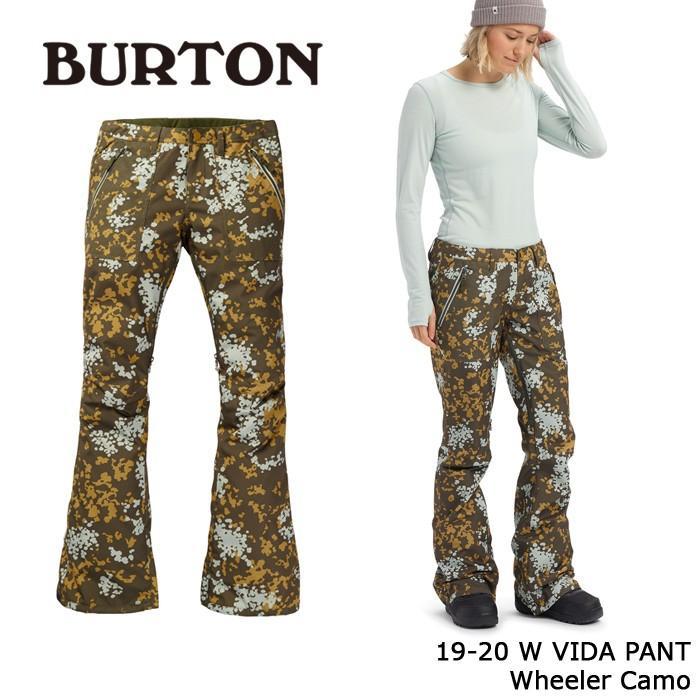 【一部予約販売】 バートン ウェア パンツ 19-20 BURTON WOMEN'S VIDA PANT Wheeler Camo 日本正規品, きうち屋ウェブショップ 9717b86c