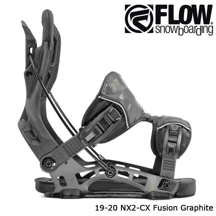 特典あり フロー ビンディング 金具 19-20 FLOW NX2-CX FUSION Graphite 日本正規品