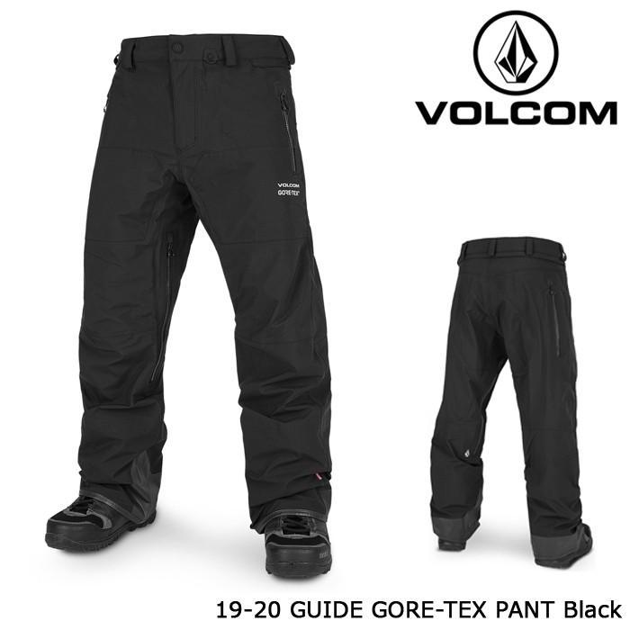 ボルコム ウェア パンツ 19-20 VOLCOM GUIDE GORE-TEX PANT 黒 G1352001 ゴアテックス 日本正規品 予約
