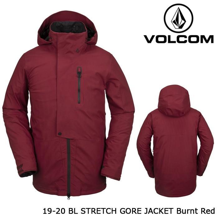 ボルコム ウェア ジャケット 19-20 VOLCOM BL STRETCH GORE JACKET Burnt 赤 G0652002 ゴアテックス 日本正規品 予約