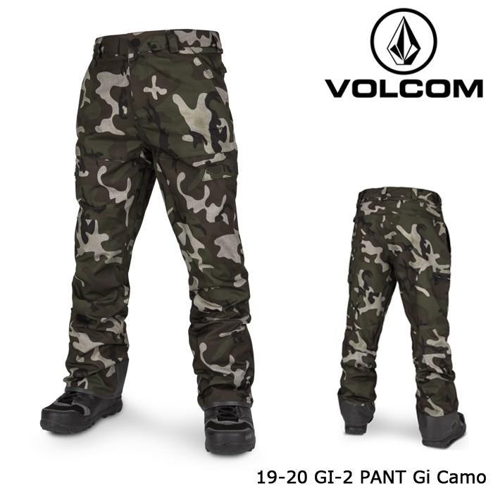 ボルコム ウェア パンツ 19-20 VOLCOM GI-2 PANT Gi Camo G1352007 日本正規品