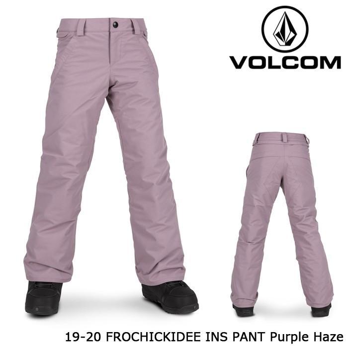 ボルコム ウェア パンツ 19-20 VOLCOM KIDS' FROCHICKIDEE INS PANT 紫の Haze I1252005 日本正規品