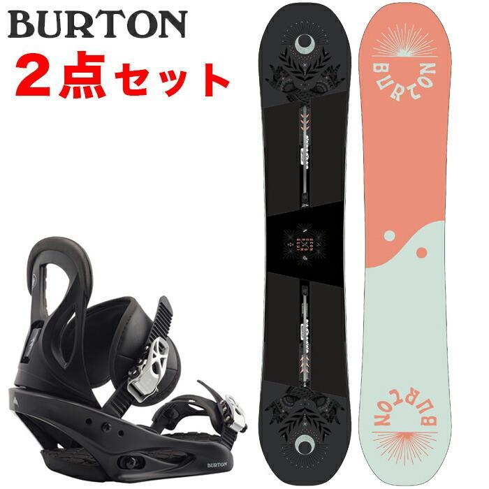 バートン スノーボード2点セット 20-21 BURTON REWIND -  19-20 CITIZEN Black リワインド シチズン 板 ビンディング 金具 日本正規品