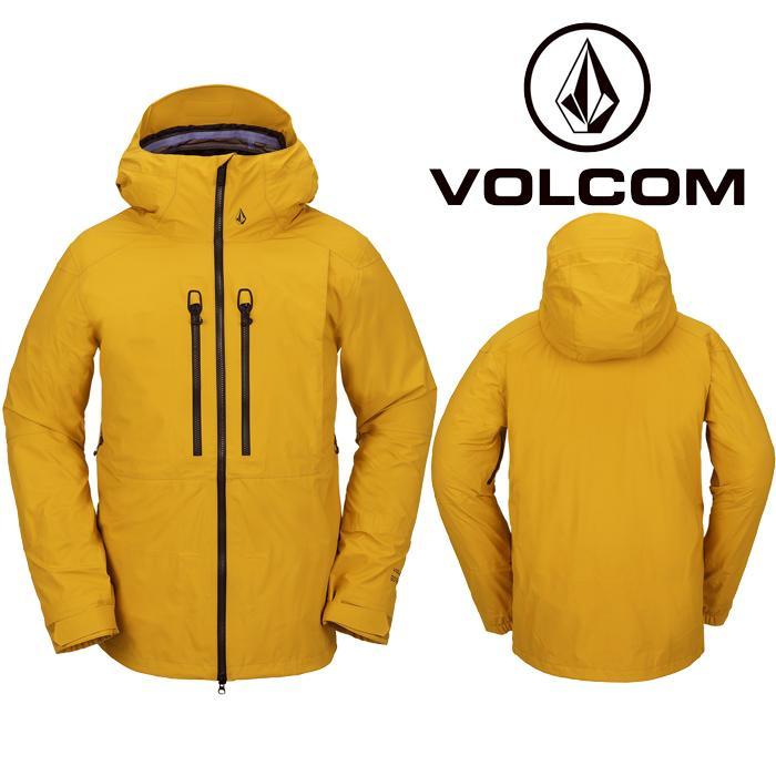 ボルコム ウェア ジャケット 20-21 VOLCOM GUIDE GORE-TEX JACKET RSG-Resin Gold G0652101 スノーボード ゴアテックス 日本正規品