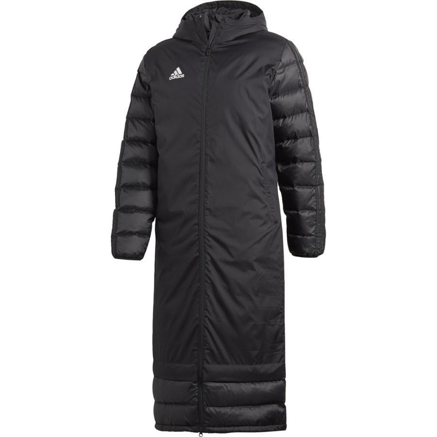 adidas アディダス CONDIVO18 ウィンターコート メンズ サッカー・フットサルウェア DJV52 ブラック/ホワイト