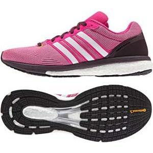 adidas アディダス adizero Boston boost W Spe(WOMEN'S) S78214 ミネラル赤 S16/