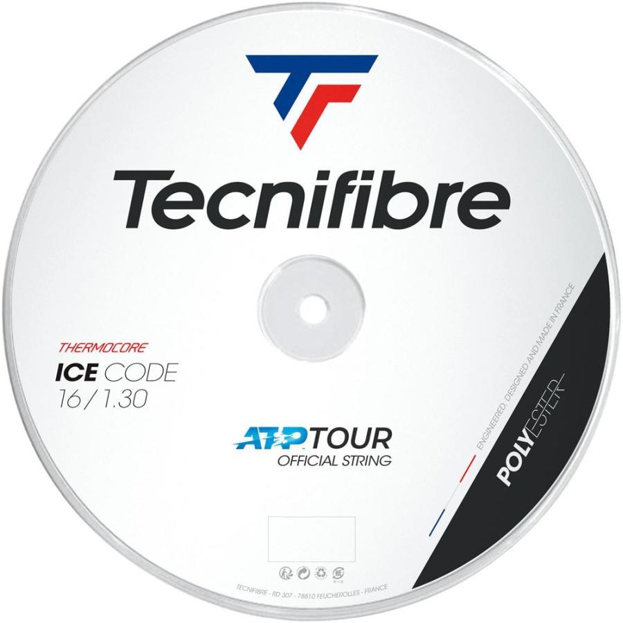 Tecnifibre テクニファイバー ICE CODE 1.30mm ロール200m TFR422 ホワイト
