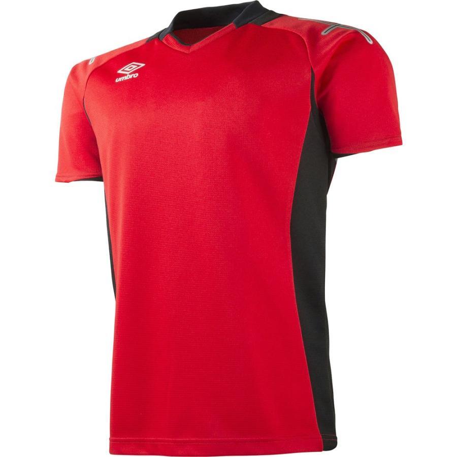UMBRO アンブロ GKシャツ S/S UAS6601G M赤