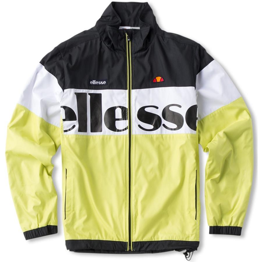 Ellesse エレッセ (男女兼用 テニスウェア) TEAM ウインドアップジャケット ETS57351 レモネード