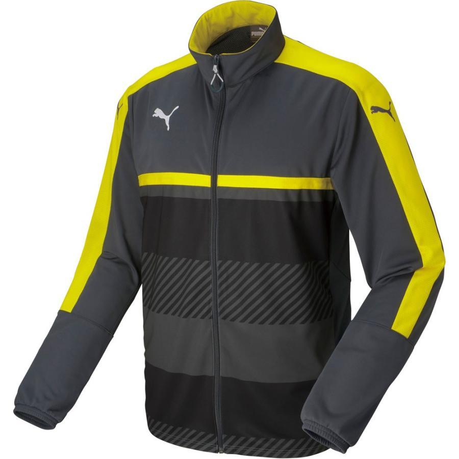 PUMA プーマ 【メンズ サッカー・フットサルウェア】 TWV トレーニングジャケット 654802 02EBONY