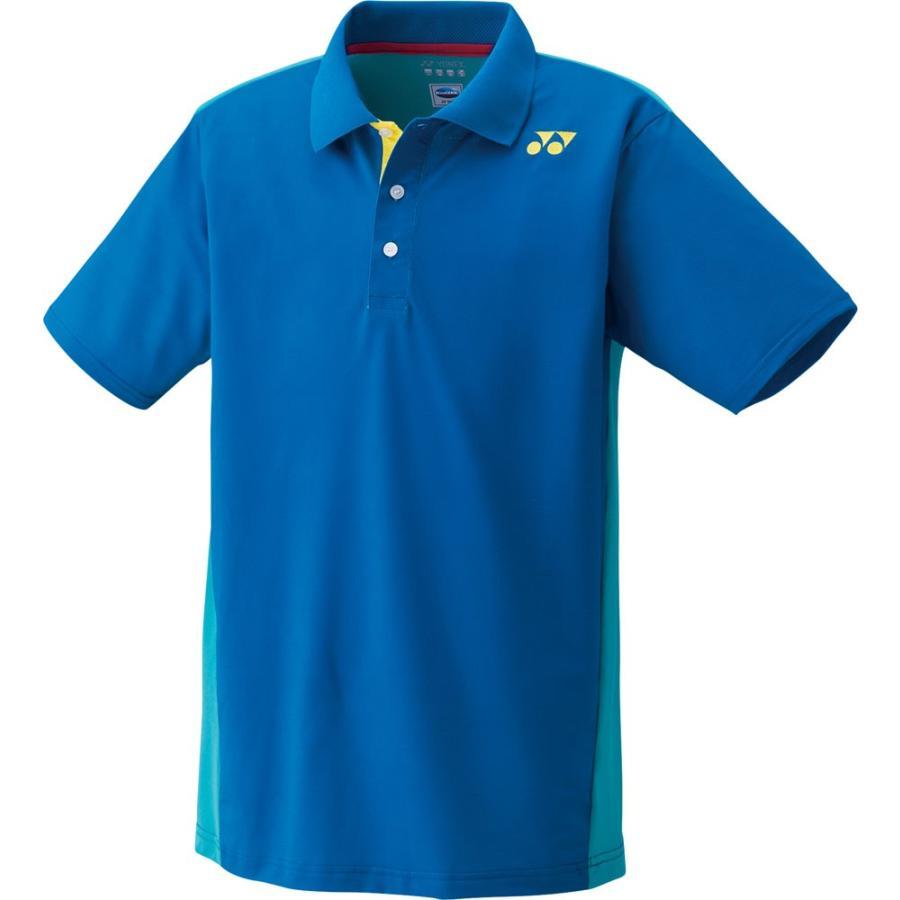 Yonex ヨネックス 【男女兼用 テニスウェア】 UNI ポロシャツ 10167 ディープブルー