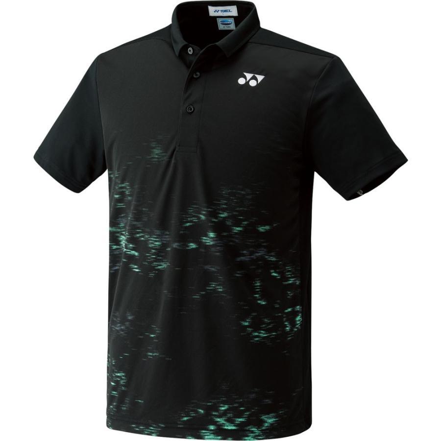 Yonex ヨネックス 【男女兼用 テニスウェア】 UNI ポロシャツ(フィットスタイル) 10182 ブラック